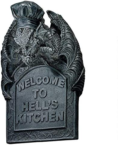 Design Toscano Hell s Kitchen Sculptural Wall Plaque