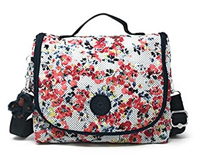 Kipling Kichirou, Black, One Size (Busy Blossoms, One Size)