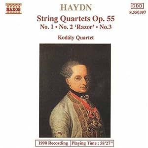 Haydn: String Quartets Op. 55