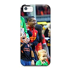 High Quality Shock Absorbing Case For Iphone 5c-napoli Pepe Reina After A Match
