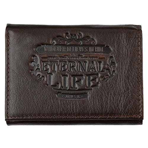 Genuine Leather Eternal Tri Fold Wallet product image