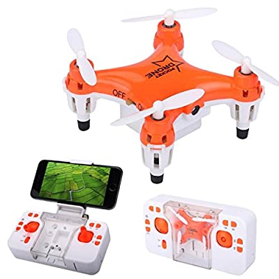 ABCsell 2017 L6058W 2.4G 4CH 6Axis RC 3D Roll Quadcopter Mini Pocket Drone WiFi Camera FPV from ABCsell