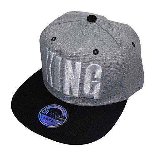 ACC - Gorra de béisbol - para Hombre King grau weiß