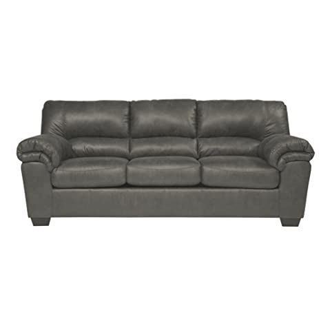 Pleasant Signature Design By Ashley Bladen Contemporary Plush Upholstered Sofa Slate Gray Gmtry Best Dining Table And Chair Ideas Images Gmtryco