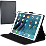 Cooper Magic Carry II PRO case Compatible with iPad Pro 10.5 | Protective Tablet Folio Cover w Handle, Multi-Angle Stand | Carrying Case, Business School Restaurant Travel | Apple A1701 A1709 (Black)