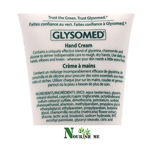 Glysomed Hand Cream Unscented 1.7 Oz Purse Size (Quantity of 3)
