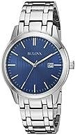 Bulova Men's 96B222 Analog Display Quartz Silver Watch