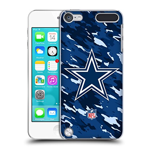 Price comparison product image Official NFL Camou Dallas Cowboys Logo Hard Back Case for iPod Touch 5th Gen / 6th Gen