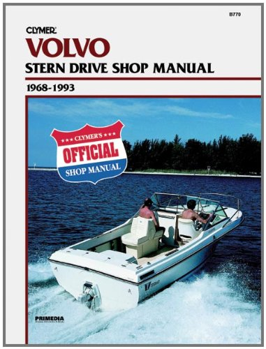 Clymer Volvo Penta S/D 68 93 Manual