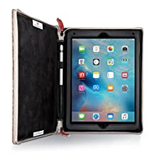 Twelve South Rutledge BookBook for iPad Pro (9.7-inch) | Artisan leather case and easel for iPad Pro