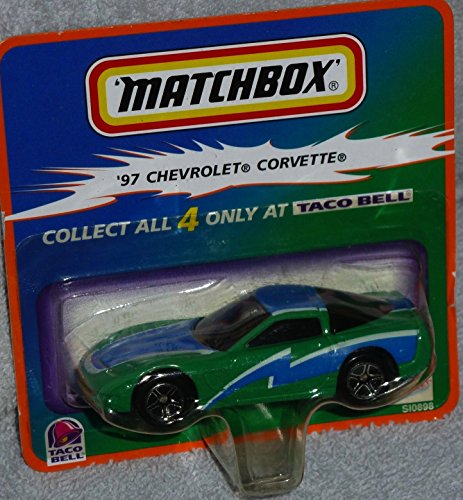 Matchbox Taco Bell Exclusive 97 Chevrolet Corvette