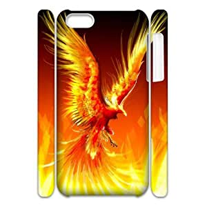 AKERCY Monster Demon Phoenix Phone 3D Case For Iphone 5C [Pattern-3]