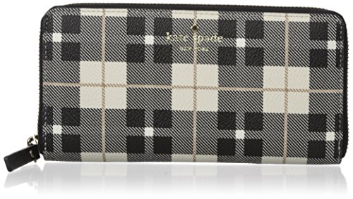Kate spade new york Fairmount Square Lacey Wallet, Light Shale/Multi, One Size