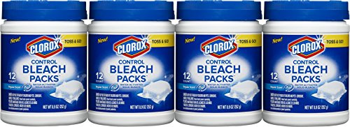Clorox Control Bleach Packs, Regular, 48 Count