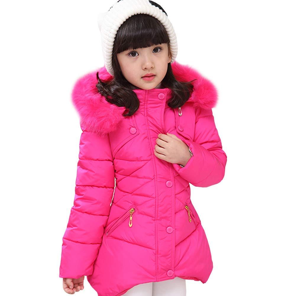 SUNNY Store Warm Jackets Snowsuit Hooded Windbreaker Outwear with Soft Fur Hoodies