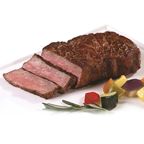 New York Prime Beef - Strip Sampler Collection - 16 oz. 28 Day Dry Aged Prime Boneless NY Strip - 16 oz. American Wagyu NY Strip - 8 oz. Japanese Kobe Strip - THE BEST STEAK ON THE PLANET by New York Prime Beef