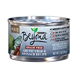 Purina Beyond Pate Grain Free Arctic Char & Spinach Recipe Adult Wet Cat Food - Twelve (12) 3 oz. Cans