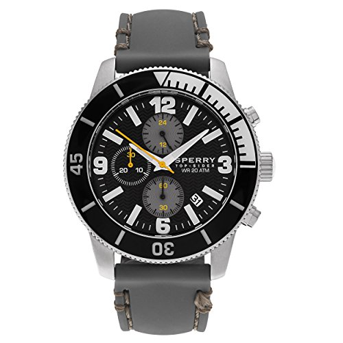 Sperry Top-Sider Men's 10023539 Silicone Strap Diver Watch