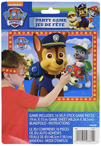 Unique Industries PAW Patrol Party Game for 16 -