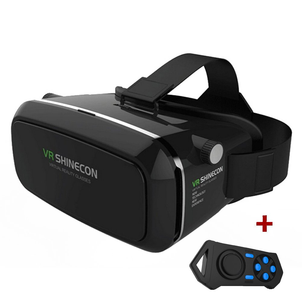 Hibote 2015 NEW UPDATED! Black 3D VR Virtual Reality Glasses...