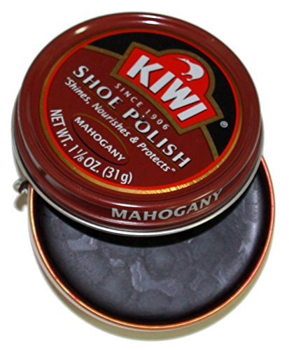 KIWI Mahogany Shoe Polish, 1-1/8 ()