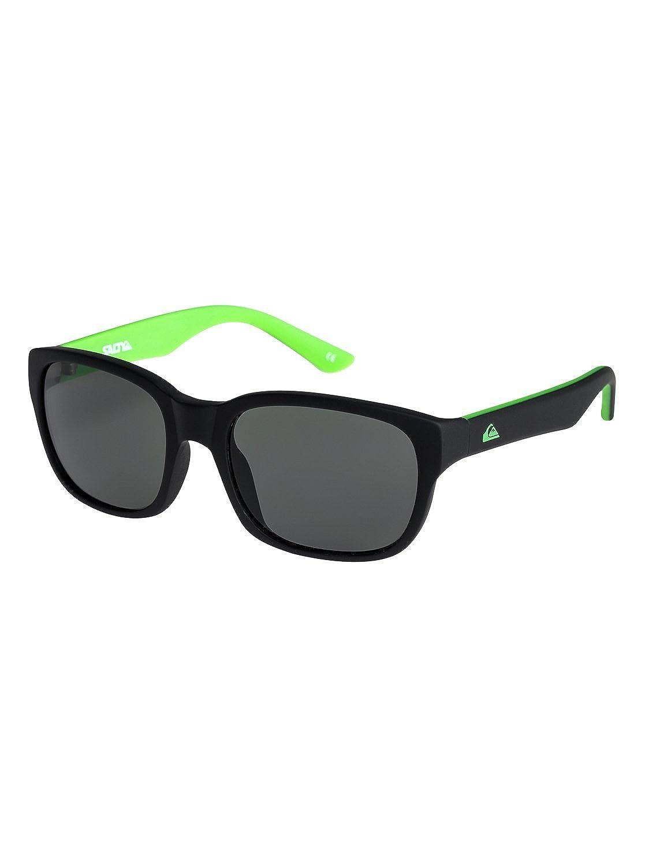 Quiksilver - Gafas de Sol - Niños 8-16 - ONE SIZE - Negro: Amazon.es: Ropa y accesorios