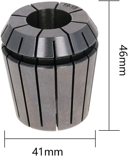 Utoolmart 24mm Clamping Range Spring Collet ER40 Series 0.015mm Precision Chuck Collect CNC Lathe Router Milling Tool Holder