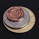 Roboco US Mint,3pcs/Set Hogwart Gringotts Bank Coin