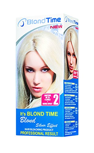 Blond time blond silver effect producto para el blanqueamiento del pelo Rosa impex
