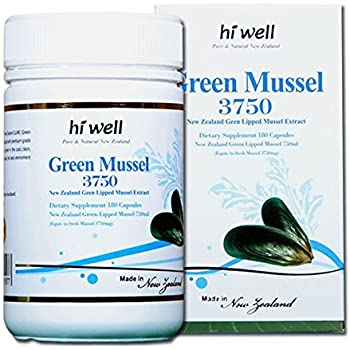 Amazon Com Green Lipped Mussel 90 Capsules The Miracle From New