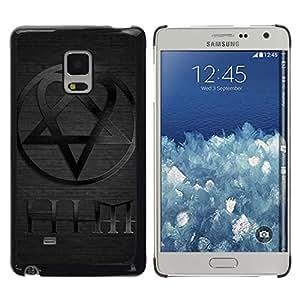 // PHONE CASE GIFT // Duro Estuche protector PC Cáscara Plástico Carcasa Funda Hard Protective Case for Samsung Galaxy Mega 5.8 / ÉL /
