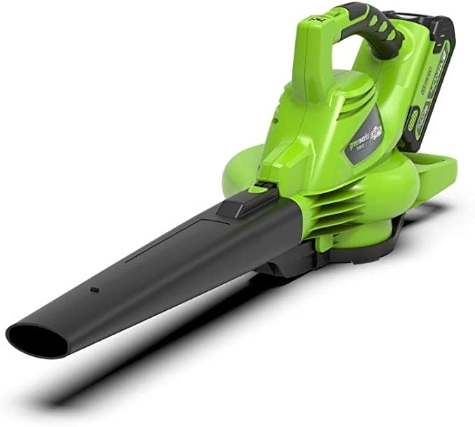 Greenworks Tools GD40BV Cordless Leaf Blower and Vacuum 2-in-1 - Best Cordless Model