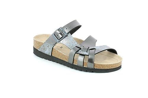 3146dcab3a205 Grunland CB2195 HOLA Ciabatta Donna S. Canna DI Fucile 38  Amazon.co.uk   Shoes   Bags
