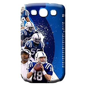 samsung galaxy s3 Heavy-duty Defender Awesome Look phone carrying shells indianapolis colts