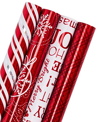 Christmas Roll - WRAPAHOLIC Christmas Gift Wrapping Paper Roll