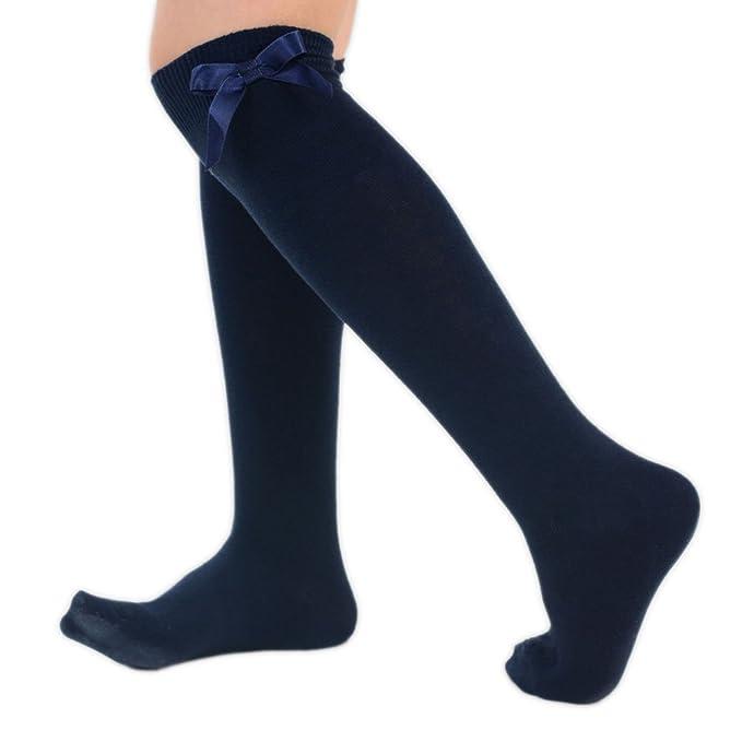 Novali - Calcetines hasta la rodilla - para niña: Amazon.es: Ropa y accesorios