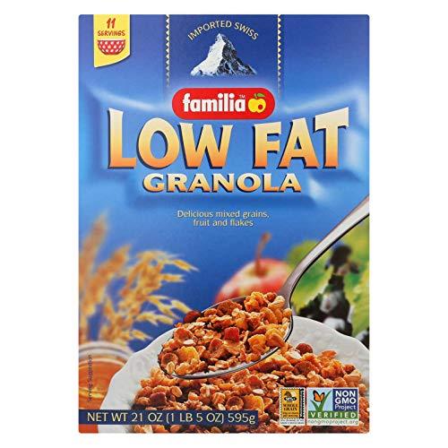 Familia Granola - Low Fat - Case of 6 - 21 oz.