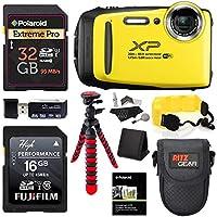 Fujifilm FinePix XP130 - Yellow, 32GB SD Memory Card,...