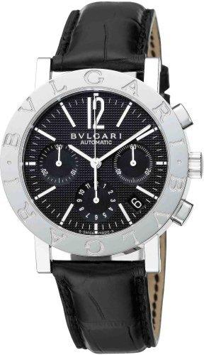 [Bulgari] Bvlgari reloj bb38bsldch burugariburugari Cronógrafo Negro Hombres de [paralelo mercancías de importación]: Amazon.es: Relojes