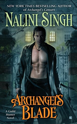 Archangel's Blade Front Cover