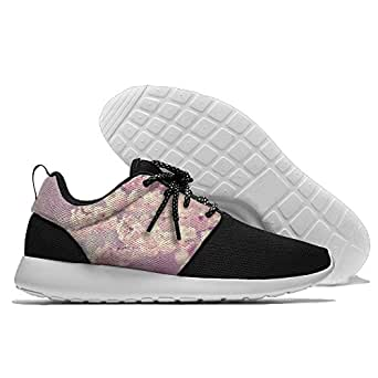 Cherry Bloom Men's Mesh Running Shoes Sneakers Casual Athletic Workout Fitness Sports Shoes Trainers 42