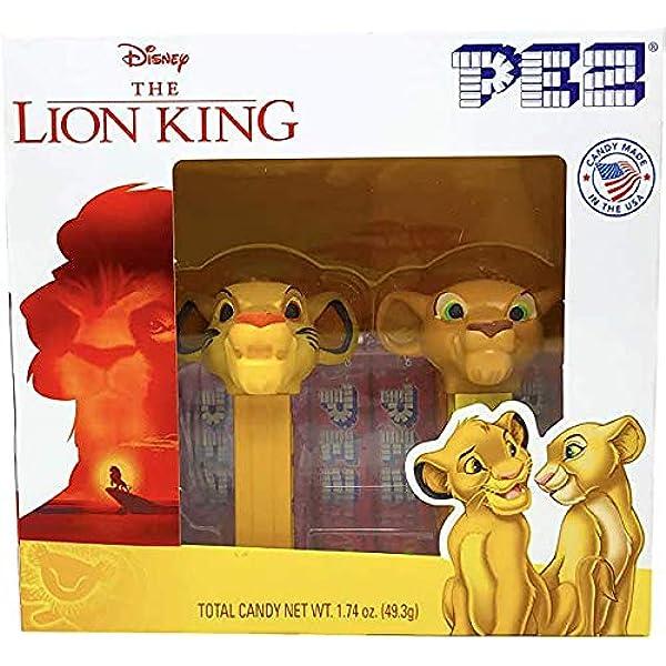 Carded DISNEY The LION KING Pez Dispenser SIMBA