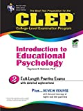CLEP Introduction to Educational Psychology: 2 (CLEP Test Preparation)