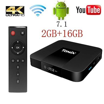 f726737242 TX3 Mini TV Box Android 7.1, 2G RAM 16G ROM 4K Ultra HD: Amazon.co ...