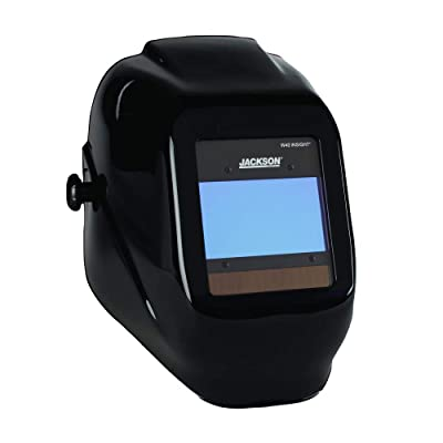 JACKSON SAFETY 46131 W40 Insight Variable Auto Darkening Welding Helmet, Halo X, Universal, Black: Industrial & Scientific