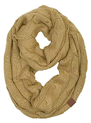 que Infinity Scarf - Camel ()