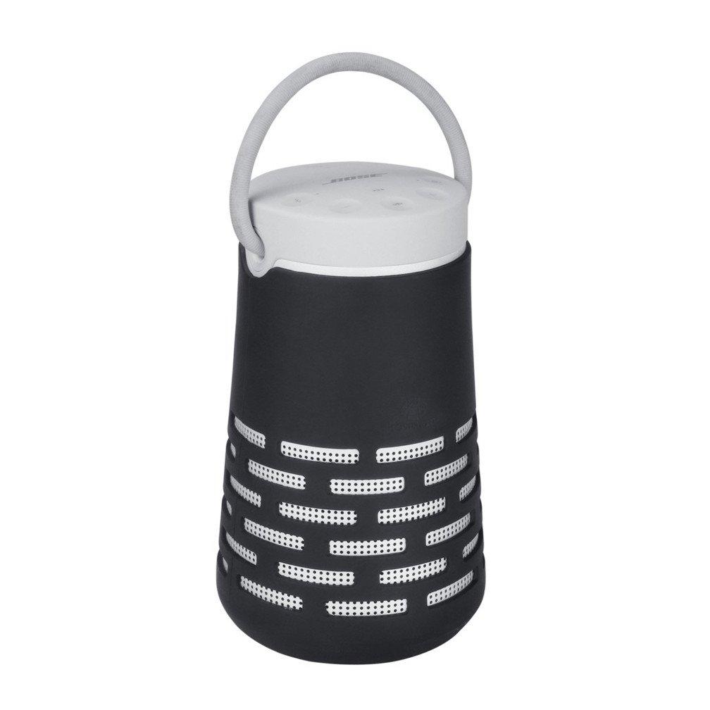 Protective Soft Cover Carry Case for Bose Soundlink Revolve+ Plus Bluetooth 360 Speaker (Black)