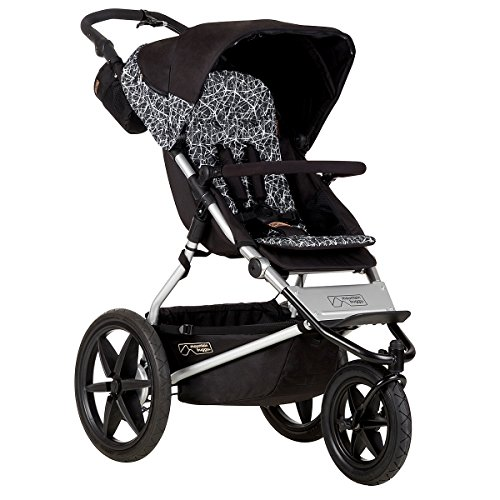 Mountain Buggy Terrain Premium Jogging Stroller, Graphite by Mountain Buggy (Image #1)