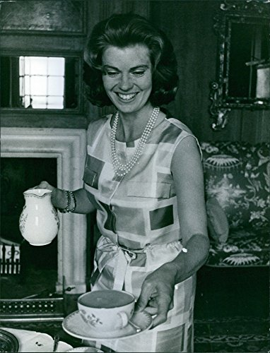 (Vintage photo of Photograph of Princess Margaretha, Mrs. Ambler, (born 31 October 1934) is a Swedish princess, the eldest sister of King Carl XVI Gustaf of Sweden and also first)