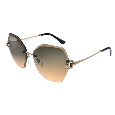 Amazon.com: Gafas de sol Bvlgari BV 6105 B 201418 color rosa ...